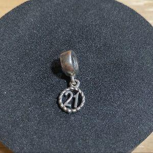 Pandora '21' Bead
